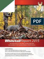 Quality Deer Management Association's 2015 Annual Deer Report