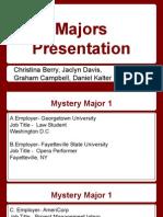 majors presentation -cns 120