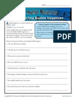 Correcting Double Negatives2