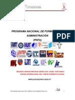 Documento Rector Del Pnfa_dic2011 -Administracion