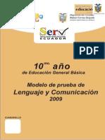 Lenguaje y Comunicacion 10