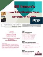 Inmon certification class