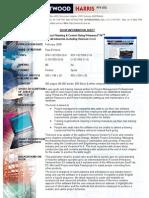 Primavera Ver 6 Book Data Sheet