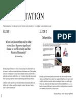 Presenatation Documentation
