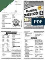 Examen 02 de Comunicación