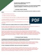Pharm Questions