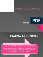 Trauma Abdomen Medicina Legal
