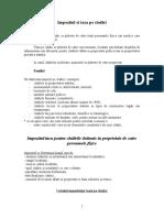 FISCALITATE-SEMINAR 1-Impozitul Si Taxa Pe Cladiri