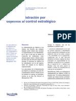 LECTURA 1 de la administracion por objetivos al control estrategico.pdf