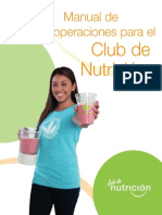 Manual Nutri club