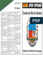 Atos Oficiais - Nova Iguaçu - 29-06-11