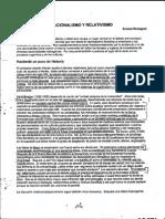 Racionalismo y Relativismo_FHCE