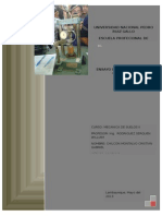Informe de Mecanica de Suelos II