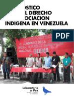 Diagnostico derecho a la asociación indígena en Venezuela