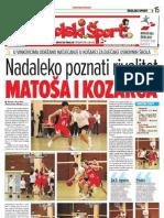 Školski šport 20.1.2010.