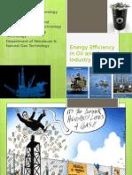 Energy Efficiency in Oil and Gas Industry