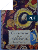 Calendario de la sabiduria -León Tolstoi
