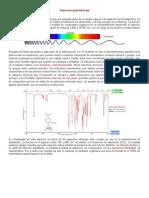 Espectroscopia infrarroja