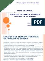 Curs 12. Strategii Cu Optiuni piete de capital