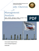 Case Study_Strategic Management_Chevron