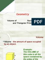 6 - volume of prisms