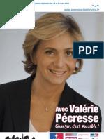 Projet de Valérie Pécresse pour l'Ile-de-France
