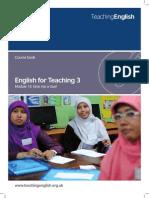 EFT3 Coursebook Module 13