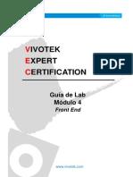 Guía de Lab- Módulo 4 - VIVOTEK Front End_20130228