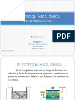 Electroquimica Ionica