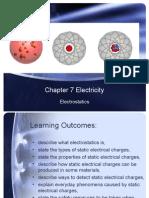 7.1 Electrostatics