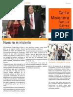 1a. Carta Missionaria Sergio Galvez