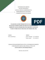 Tesis Analisis de Los Procedimientos Legales Que Deben Realizar Los Prestadores de Servicio Turistico Bajo La Normativa Legal Establecida en El Decreto Con Rango Valor y Fuerza de Ley Organica de Turismo Del 2012