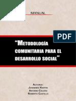 Metodología Comunitaria Para El Desarrollo Social