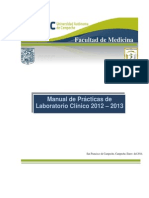 Manual Lab Clinico de analisis para Practicas