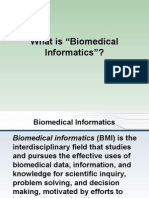 AMIA Definition of Biomedical Informatics Update