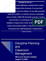 School Discipline Topic 6