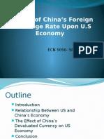 Exchange Rate China USA