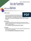 Ejemplos de Fuentes Secundarias[1]