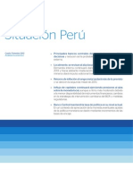 Analisis de La Situacion Peru - Bbva Banco Continental