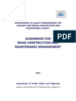 Guidebook for Road Construction and Maintenance Management