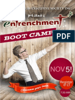 Entrenchment and Bootcamp Posters