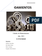 Monografia Rodamientos