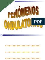 Fenómenos Ondulatorios y Ondas