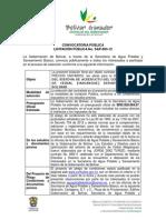 Aviso 1 Licitacion SAP-003-12