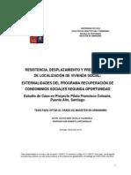 Lea Castillo - Resistencia, Desplazameinto y Preferencias de Localización de v.S.