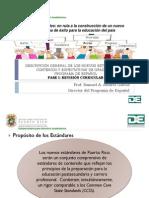 Espanol Estandares de Contenido y Expectativas de Grado 2014