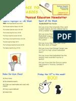 newsletter education 204