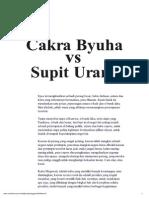 Cakra Byuha vs Sapit Urang