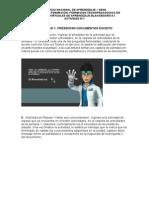 Actividad 1 Inducción a procesos pedagogicos