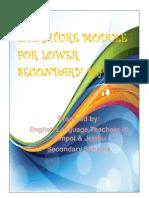 Literature Module for Lower Secondary Schools